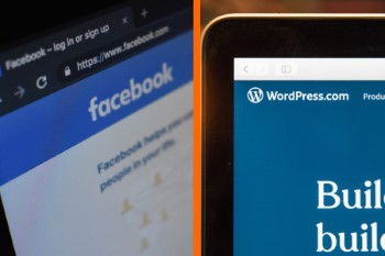 facebook blogs difference